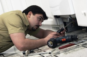 Household appliance repair technician